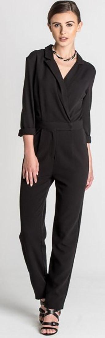 A Black Tilda Tailored Jumpsuit
