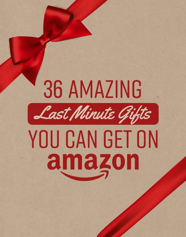 30 Amazing Last Minute Gifts You Can Still Get On Amazon