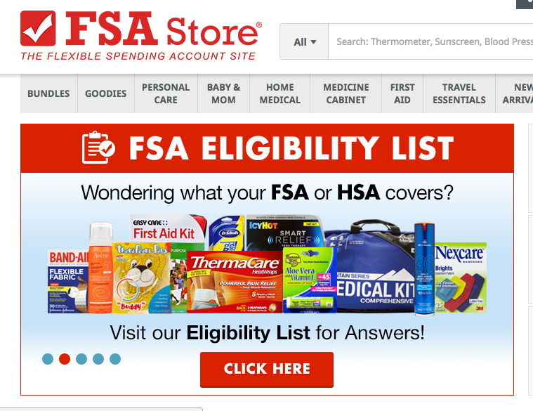 29 Things You Can Buy Online With Your FSA Money
