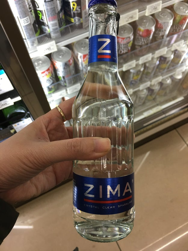 ...and last but not least, Zima.