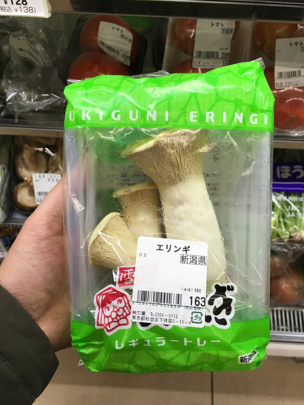 They sell full-on shrooms.