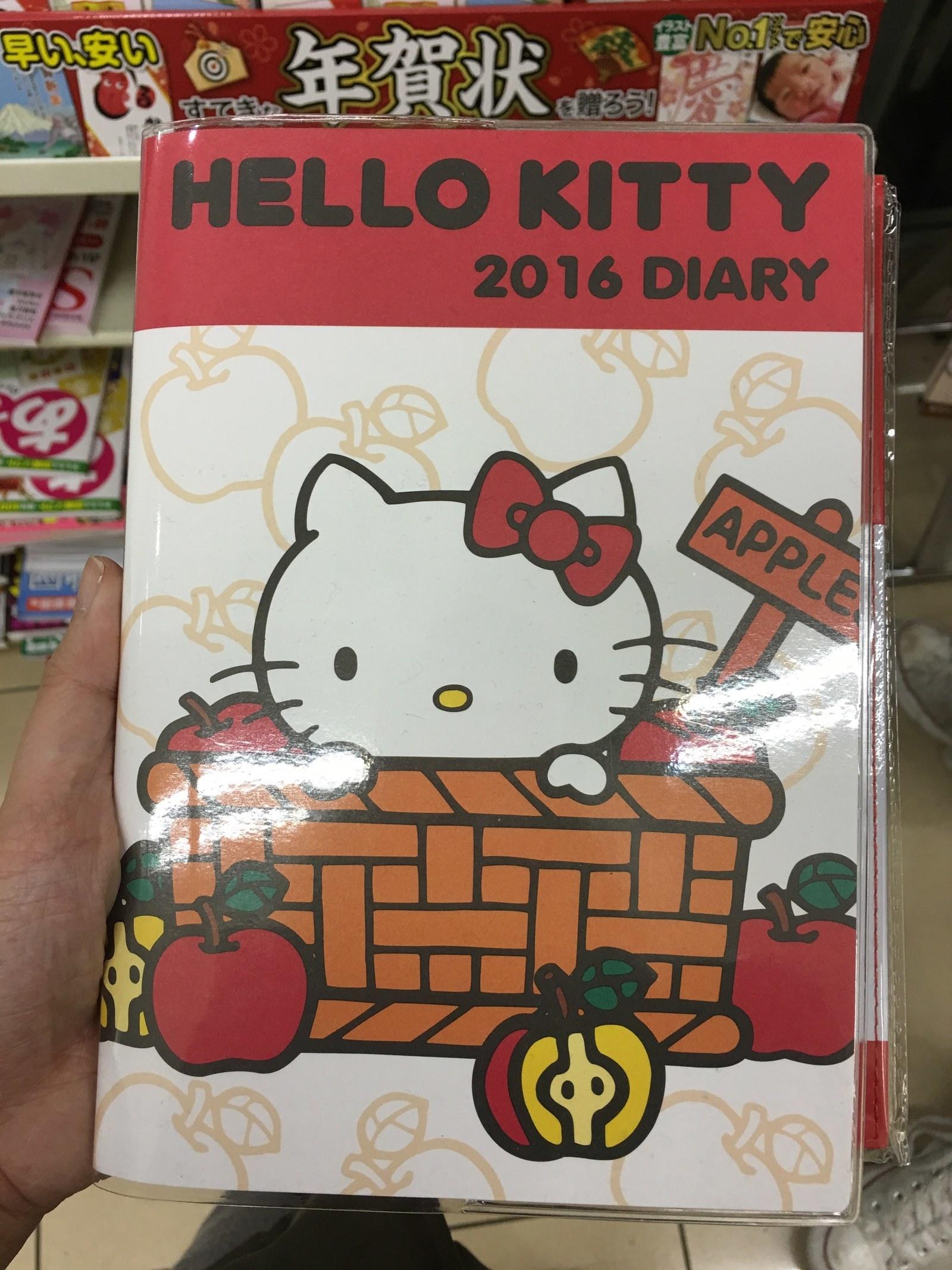 a hello kitty journal
