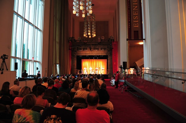 The Kennedy Center offers a free performance every evening at 6 pm on its Millennium Stage.