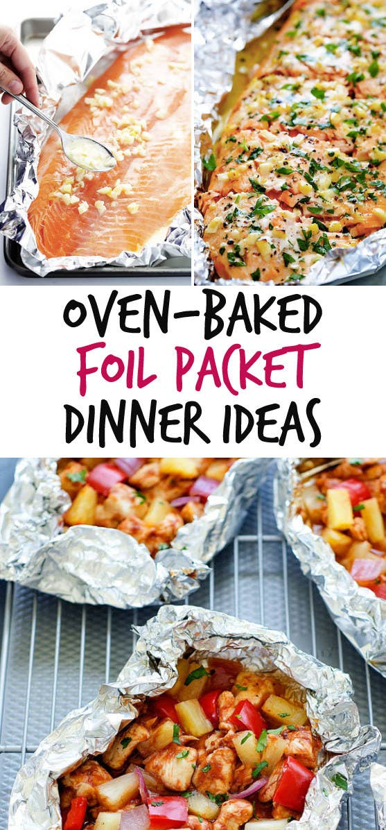 12 oven baked foil packet dinners to try share on facebook share forumfinder Image collections