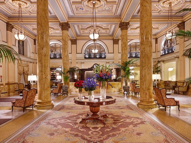 Spend a memorable night in The Willard, a hotel that has been visited by every president since the 1850s.