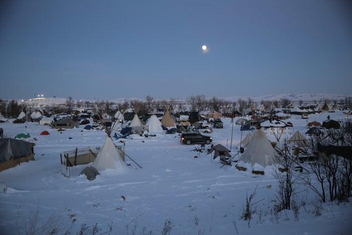 Standing Rock Oceti Sakowin Camp, Dec. 12.