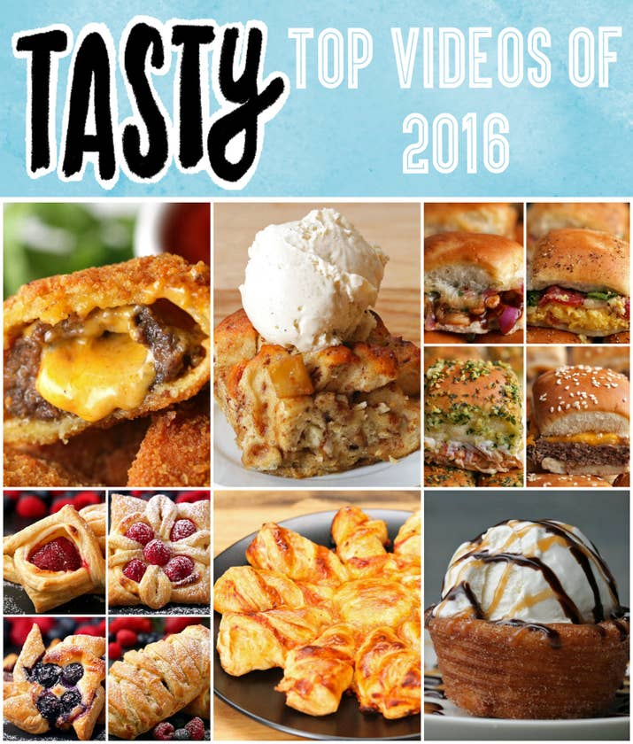 If youre bored countdown the top 10 tasty videos of 2016 with us top tasty videos of 2016 forumfinder Gallery