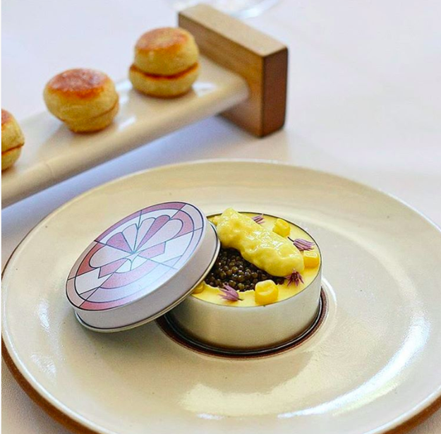 Want to try the world's fanciest Eggs Benedict? (Befriend me and) get thee to Eleven Madison Park.