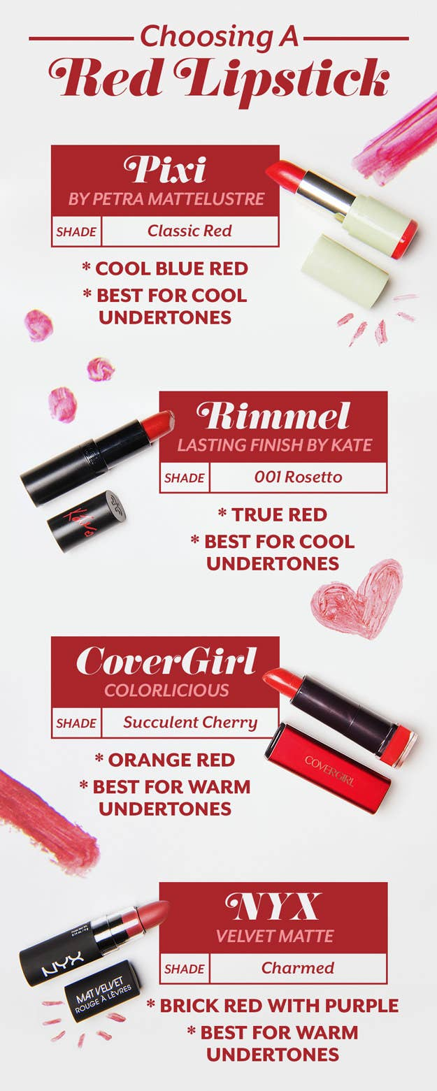 Here are the lipsticks we tried:Pixi By Petra Mattelustre Lipstick (Classic  Red)