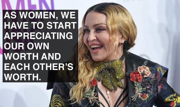 When Madonna called out sexism.