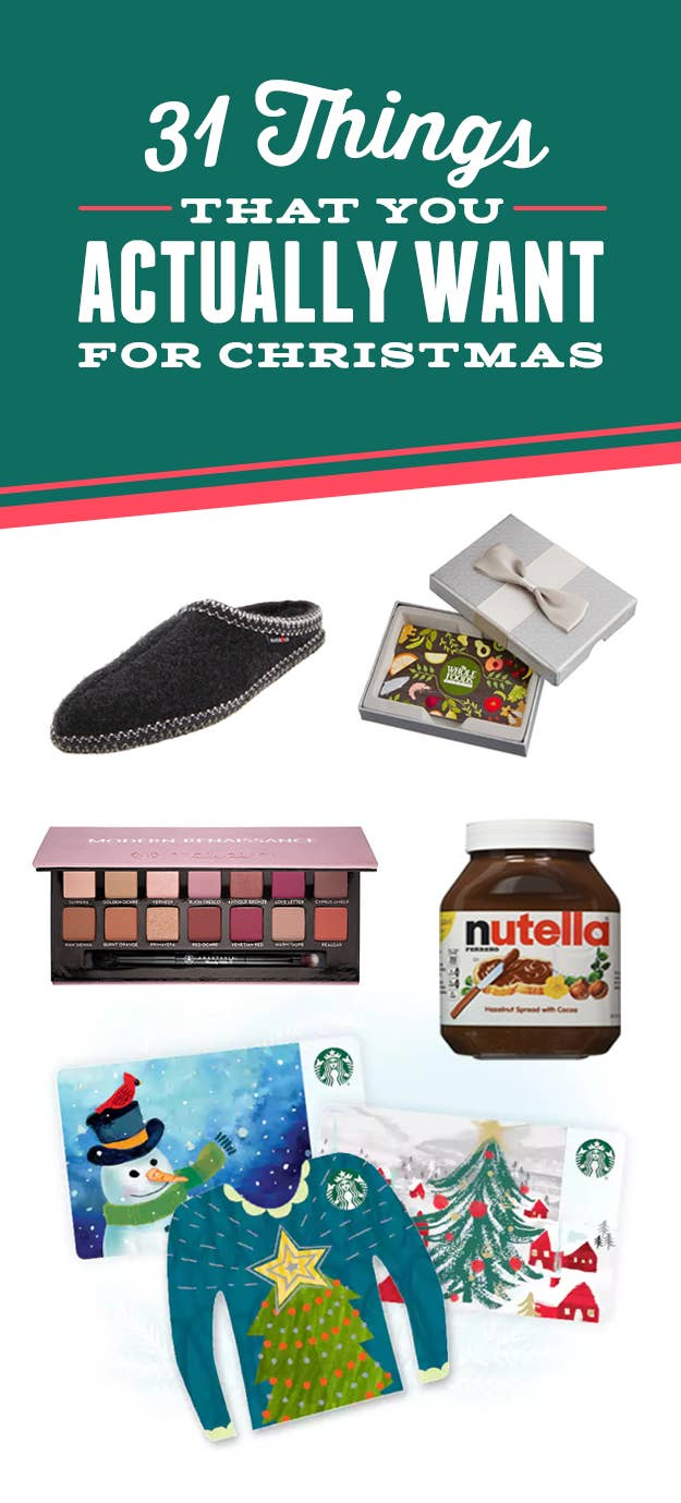 Things For Christmas.31 Last Minute Gifts That You Actually Want For Christmas