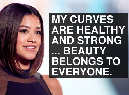 "Looking at her cover of Women's Health, the actor wrote, ""My curves are healthy and strong and I work hard to feel good in my skin, I work hard to combat the images that make me go inward and destroy my self acceptance/confidence. No longer will I allow those lies to win. Beauty belongs to everyone."""