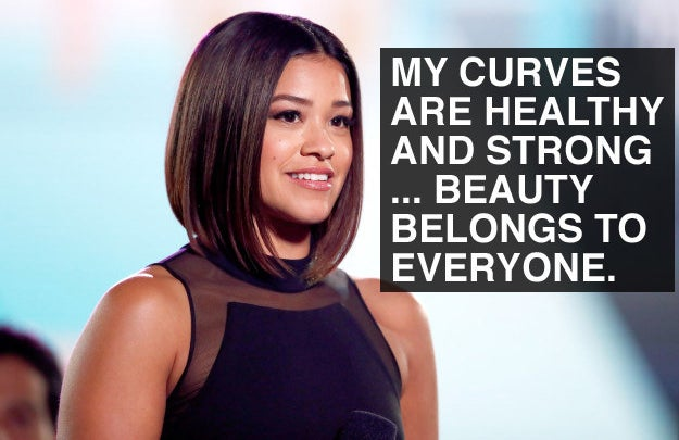 When Gina Rodriguez loved her body.