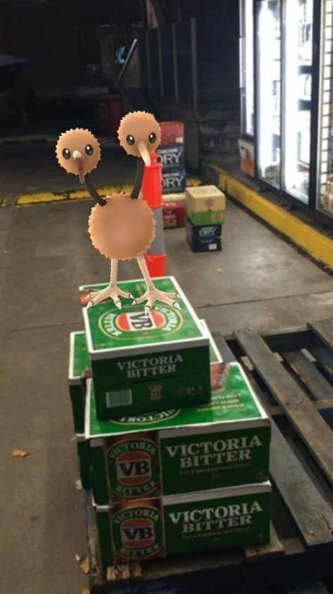 This cheeky Pokémon that just wants you to catch all the tinnies: