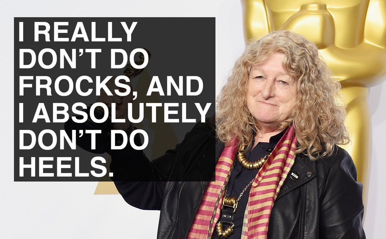 When Jenny Beavan didn't do heels.