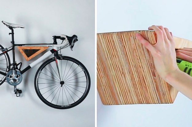 This Diy Wooden Bike Rack Will Look Gorgeous On Your Wall