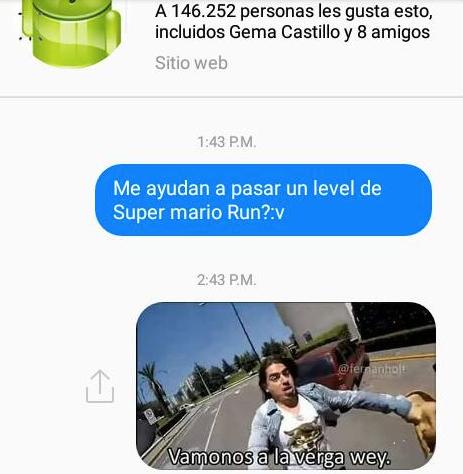 Pobre Android. :(