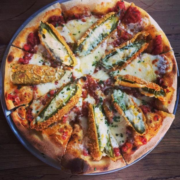 Nombrada como la pizza del año, por la revista Time.