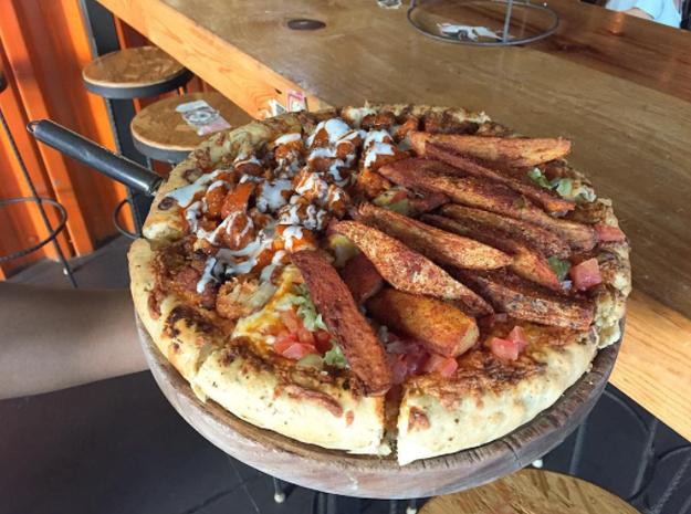Nombrada como la pizza más emprendedora de 2016 por el consejo Entrepreneur de Ginebra.