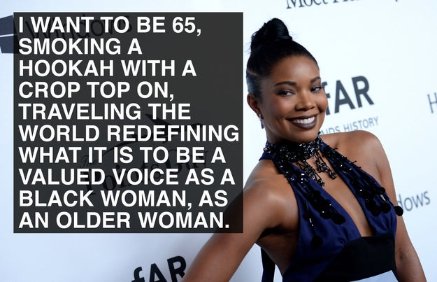 When Gabrielle Union looked to the future.