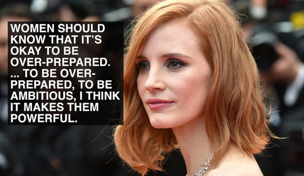 When Jessica Chastain rejected double standards.