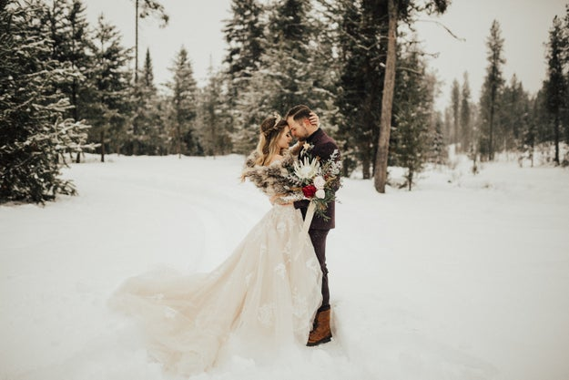 This snow king and queen.