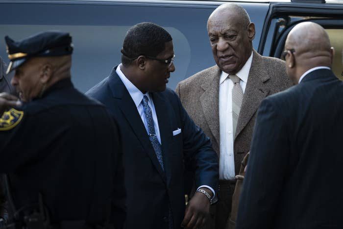 Bill Cosby arrives for a pretrial hearing in December.