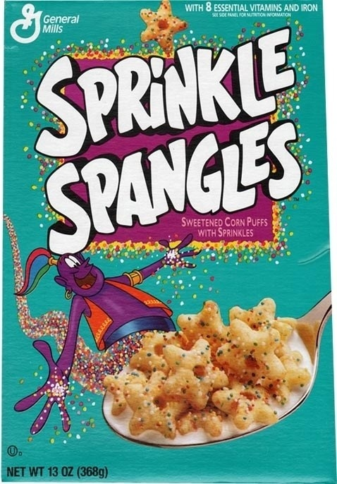 And Sprinkle Spangles.
