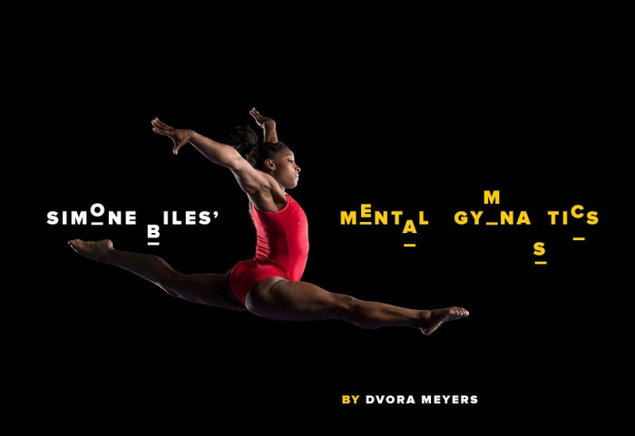 Any elite athlete is under pressure to excel. Simone Biles is under pressure to be inevitable.