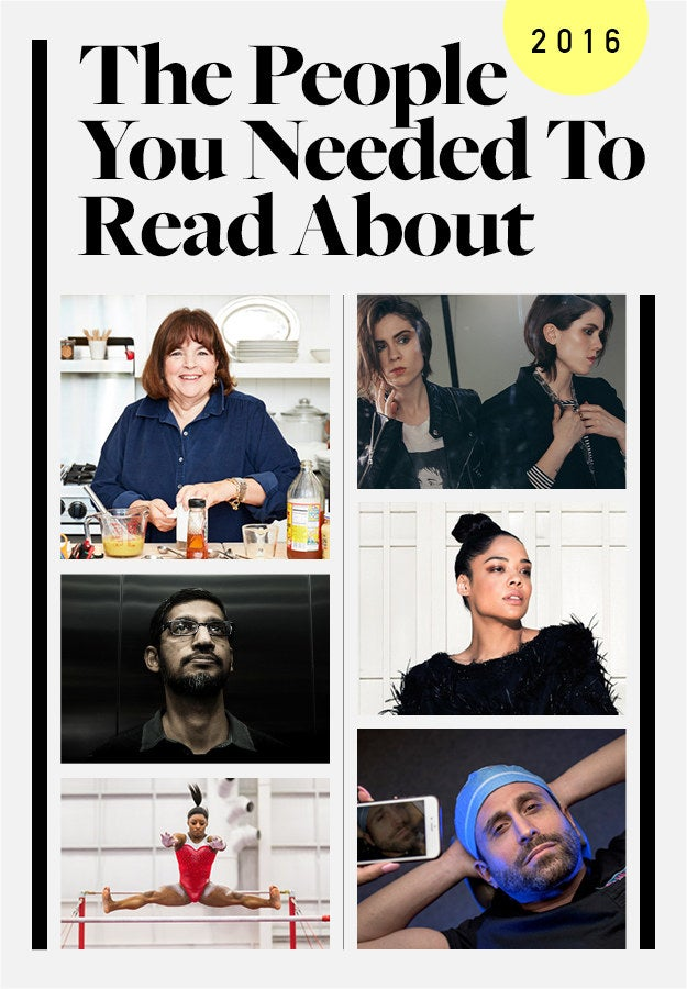 From the world's greatest gymnast to the one of the most powerful people alive to the woman who thought she'd become one of the most powerful people alive, these were the most fascinating figures of the year. Here's what it was like to spend time with them.