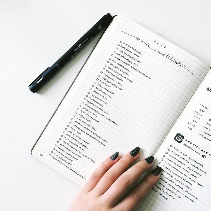 24 Minimalist Bullet Journal Layouts That'll Get You Hard