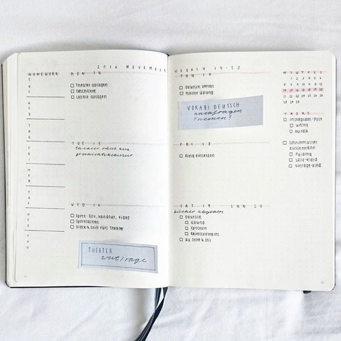 24 Minimalist Bullet Journal Layouts That Ll Get You Hard