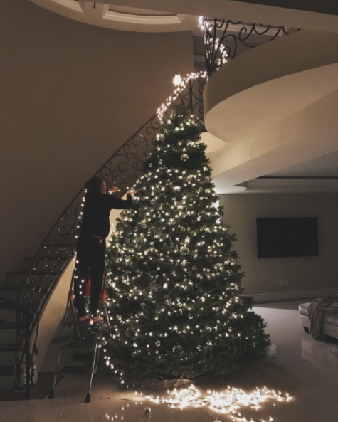 And in other firsts, Zendaya celebrated her first Christmas in her own home.