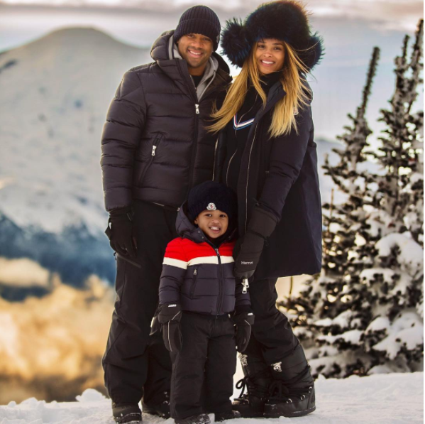 And so did Ciara and Russell Wilson.