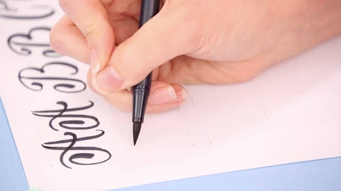 8 tips for anyone who wants to learn calligraphy and hand lettering for anyone who wants to learn the basics of hand lettering hand lettering online class from brit expocarfo Gallery