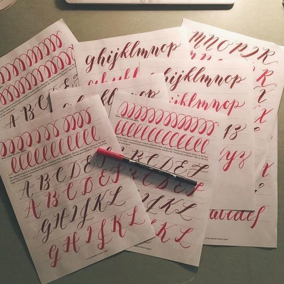 I Took Up Calligraphy And Hand Lettering In The Fall Of 2015 It Turned Out To Be A Really Wonderful Hobby