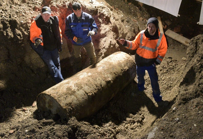 The aerial bomb, which the city said the British dropped during World War II, was found last week during construction work, CNN reported. Police said the bomb did not present an immediate danger. They waited until Christmas Day to defuse it because there would be less traffic than usual, and thought many people might be able to stay with their relatives.Residents were instructed to evacuate the area by 10 a.m. on the morning of Dec. 25 for nearby emergency shelters, with little information on when they would be able to return, ABC reported.