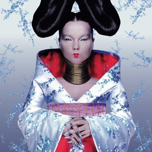 Björk, Homogenic
