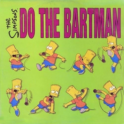 Michael Jackson cantó los coros en «Do the Bartman».