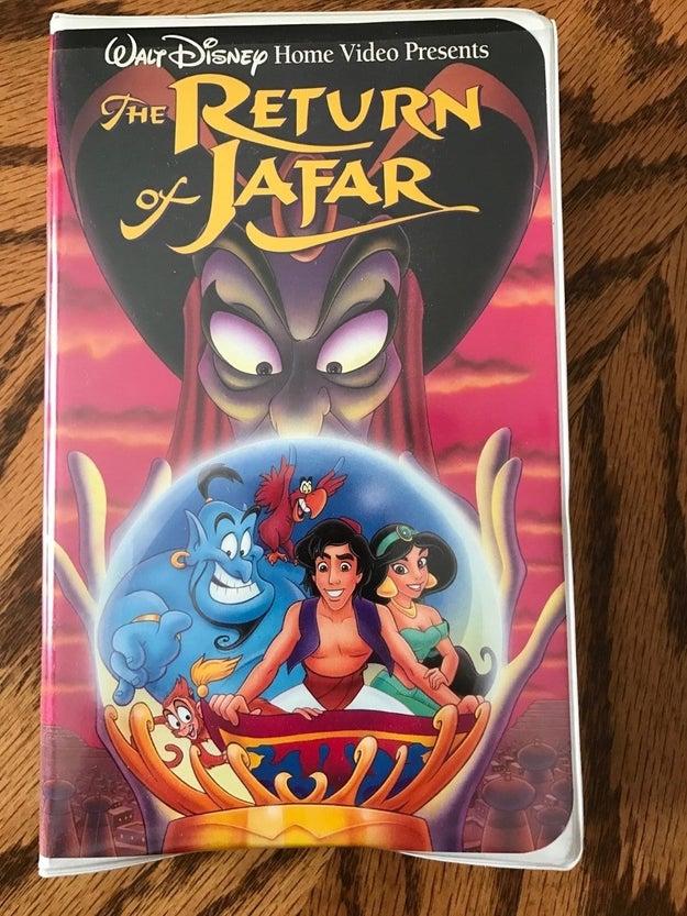 El Retorno de Jafar fue la primera secuela en vídeo de Disney.