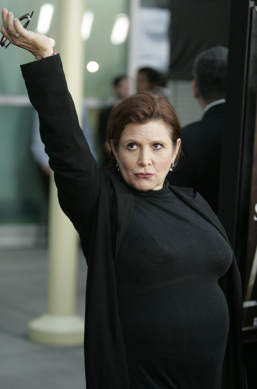 Pero sobre todas las cosas, el humor de Carrie siempre fue una constante.