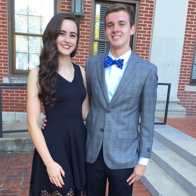 "This is Conner Fastenau and Nicole Dudley, freshmen at Baylor University and a self-declared ""pretty meme-y"" couple."