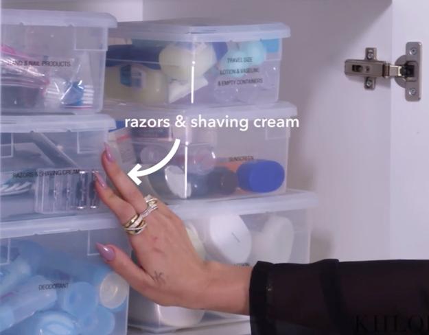 Razors and shaving cream