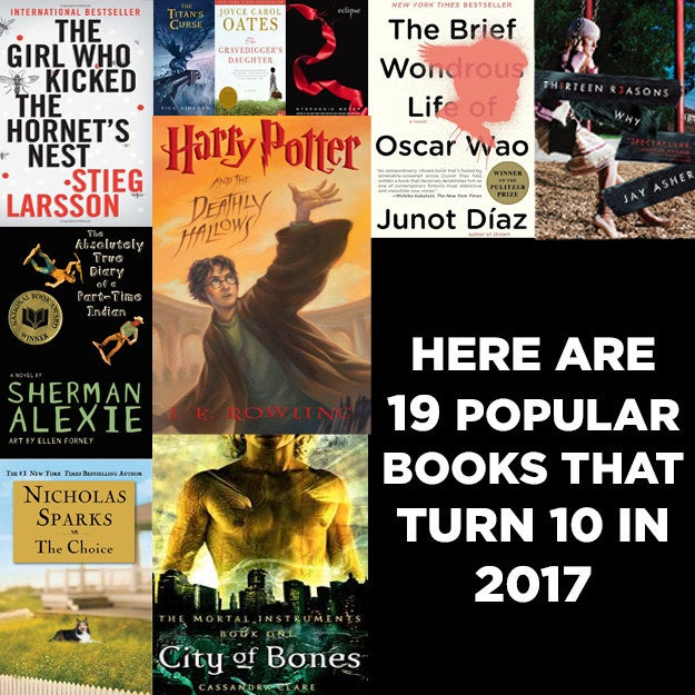 Here Are 19 Popular Books Turning 10 In 2017