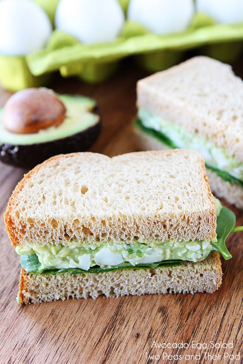 Avocado is better anyway. Find the recipe for an avocado egg salad here.