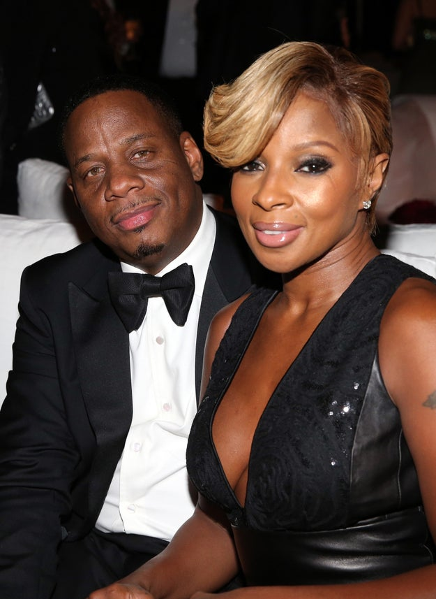 Mary J. Blige and Kendu Isaacs