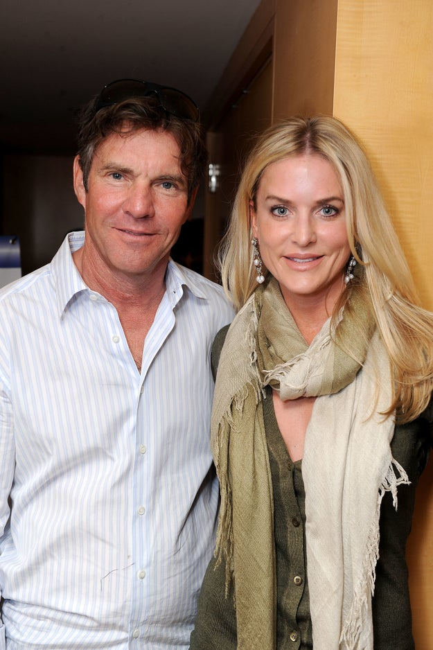 Dennis and Kimberly Quaid