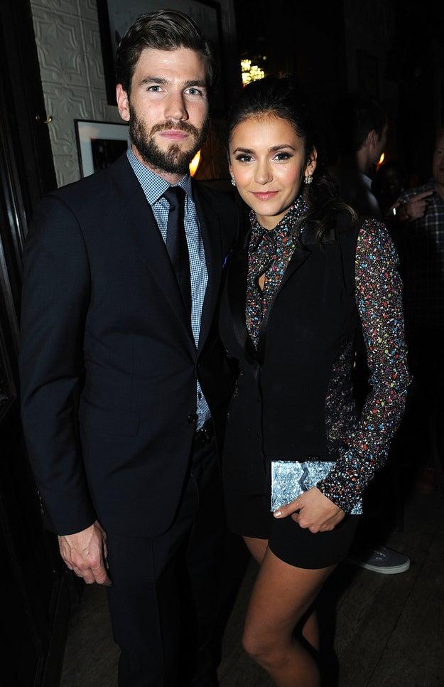 Nina Dobrev and Austin Stowell