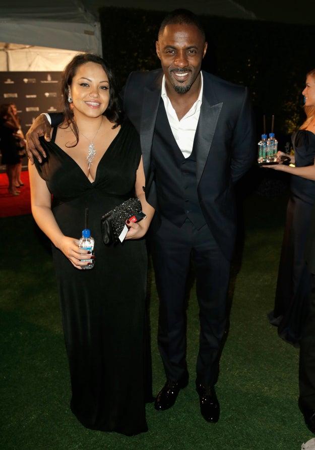 Idris Elba and Naiyana Garth