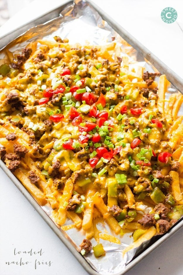 Loaded Nacho Fries